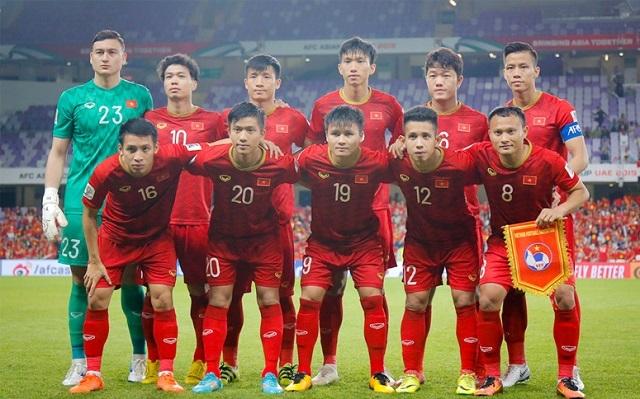 Việt Nam đã vượt xa đổi tuyển Thái Lan và Trung Quốc trên BXH của AFC