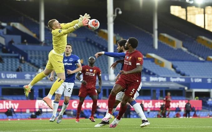 Everton Cầm Chan Liverpool Trong Trận đấu Khong Ban Thắng Bao Nhan Dan
