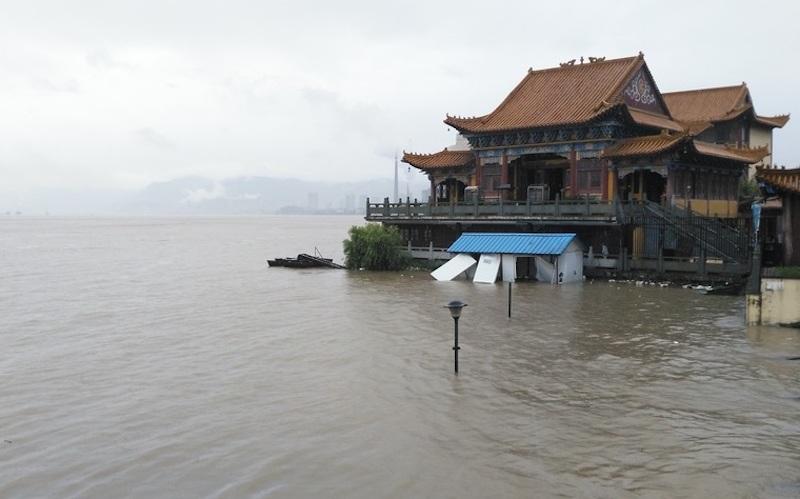 Chin Tỉnh Trung Quốc Tiếp Tục Mưa Bao Bao Nhan Dan