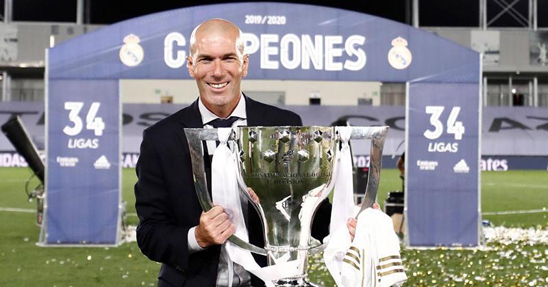 Zinedine Zidane, vị thần chiến thắng - Báo Nhân Dân