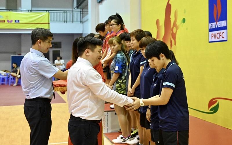 Bế mạc và trao giải Giải vô địch bóng bàn toàn quốc Báo Nhân Dân lần thứ 38 -0