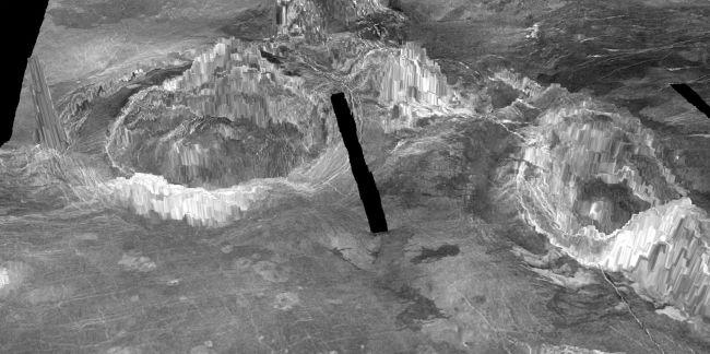 Núi lửa đang hoạt động trên sao Kim -0