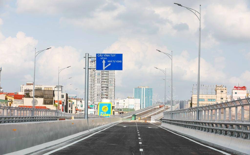 """Toàn cảnh đường vành đai 2 """"giải cứu điểm đen giao thông"""" của Hà Nội -0"""