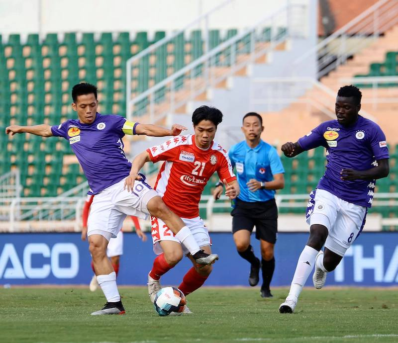 Hấp dẫn TP Hồ Chí Minh đối đầu Hà Nội FC, Sài Gòn duy trì vị trí dẫn đầu -0