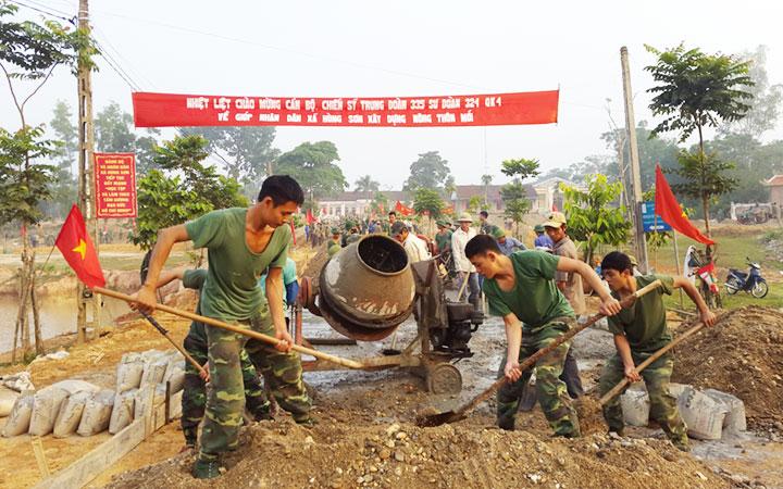 đảng Bộ Quan Khu 4 Tập Trung Lanh đạo Thực Hiện Tốt Nhiệm Vụ Quan Sự Quốc Phong Bao Nhan Dan