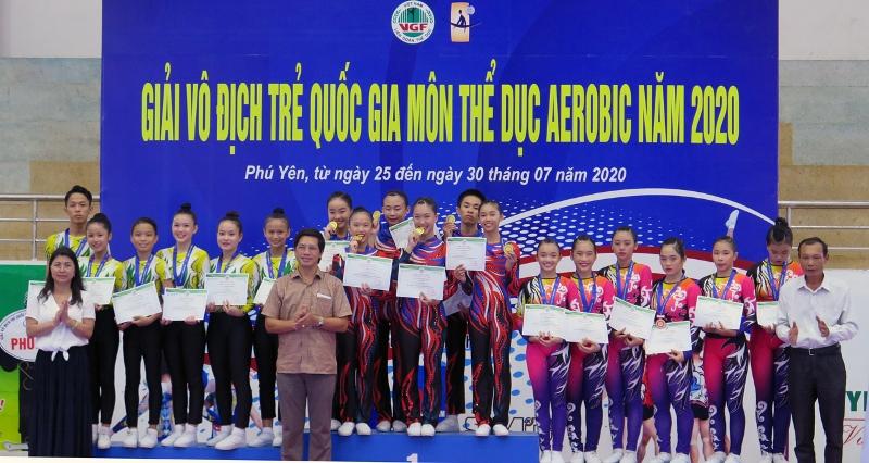 Bế mạc giải vô địch trẻ quốc gia môn thể dục Aerobic năm 2020 -0