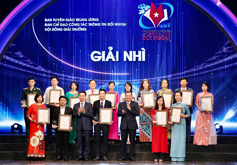 Lễ trao Giải thưởng toàn quốc về thông tin đối ngoại lần thứ 6 -0