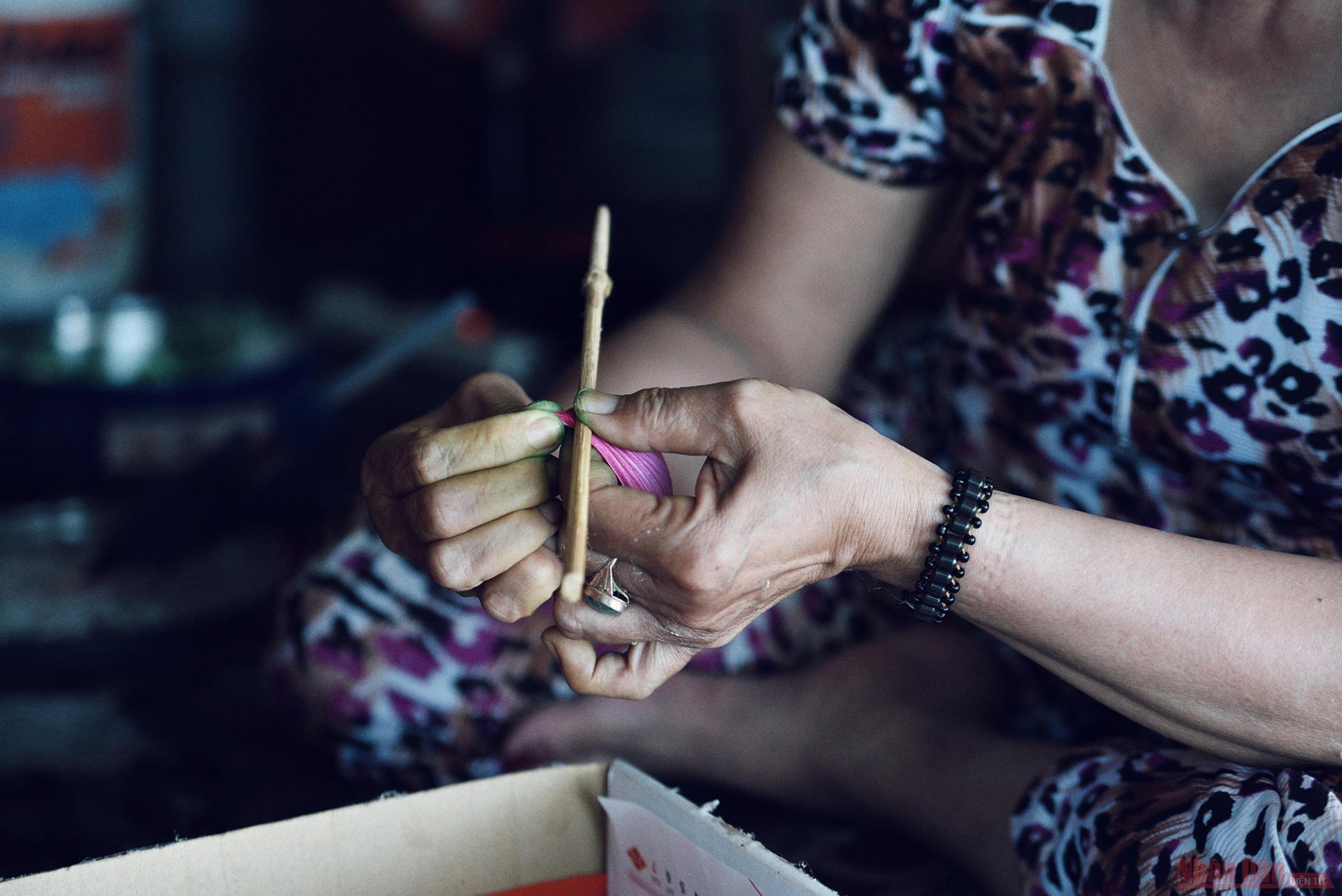 Làng nghề hoa giấy Thanh Tiên -1