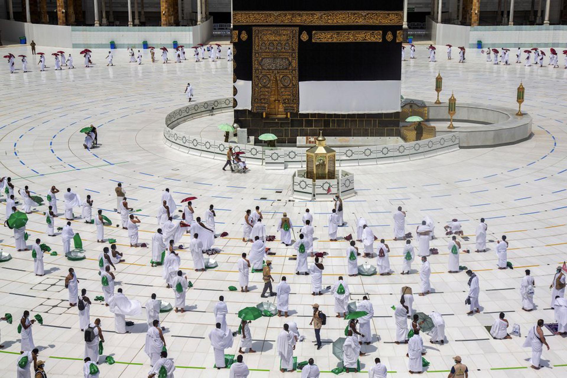 Cuộc hành hương Hajj rất khác của các tín đồ Hồi giáo -3