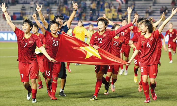 Tuyển nữ Việt Nam & giấc mơ World Cup - Báo Nhân Dân