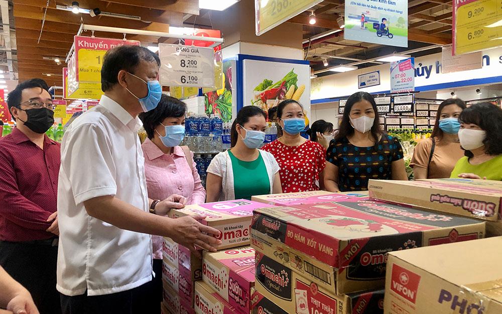 Doanh nghiệp bán lẻ tại Hà Nội tăng lượng hàng cung ứng ra thị trường -0
