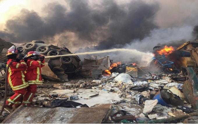 Nổ mạnh như động đất tại Lebanon, 78 người chết và 4.000 người bị thương -0