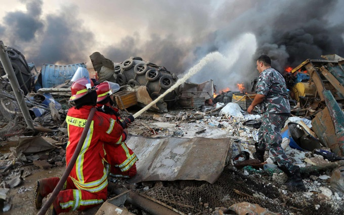 Phản ứng của thế giới sau vụ nổ tại Lebanon -0