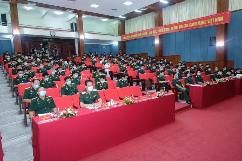 Đại hội đại biểu Đảng bộ Học viện Quốc phòng -0