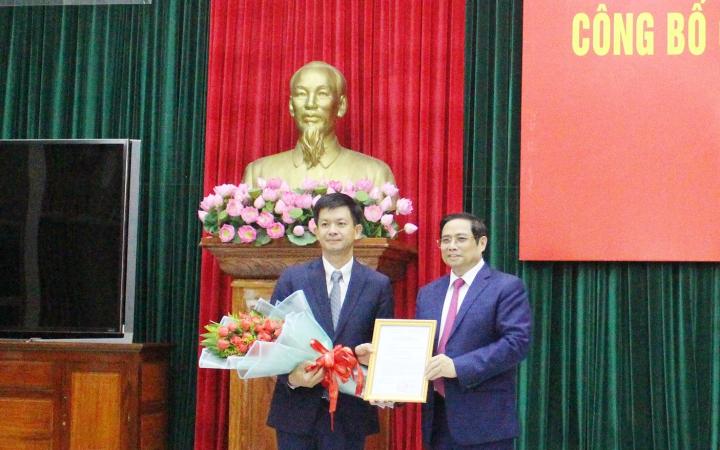 Đồng chí Lê Quang Tùng làm Bí thư Tỉnh ủy Quảng Trị -0