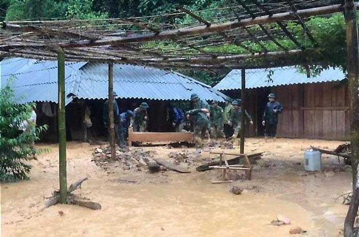 Mưa lớn gây nhiều thiệt hại tại Điện Biên -0