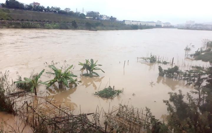 Lũ thượng nguồn sông Hồng gần báo động cấp 1 -0
