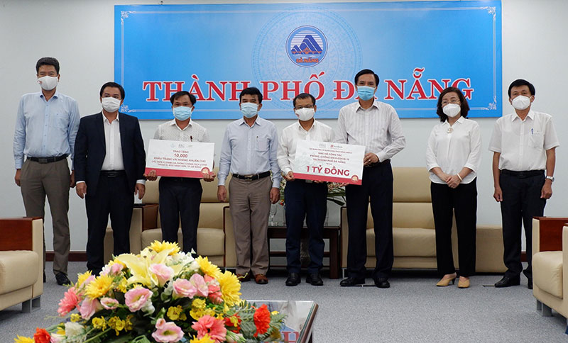 Nhiều địa phương, doanh nghiệp ủng hộ Đà Nẵng, Quảng Nam, Quảng Ngãi chống dịch -0