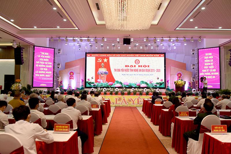 Nghệ An tổ chức trọng thể Đại hội thi đua yêu nước giai đoạn 2015 - 2020 -0
