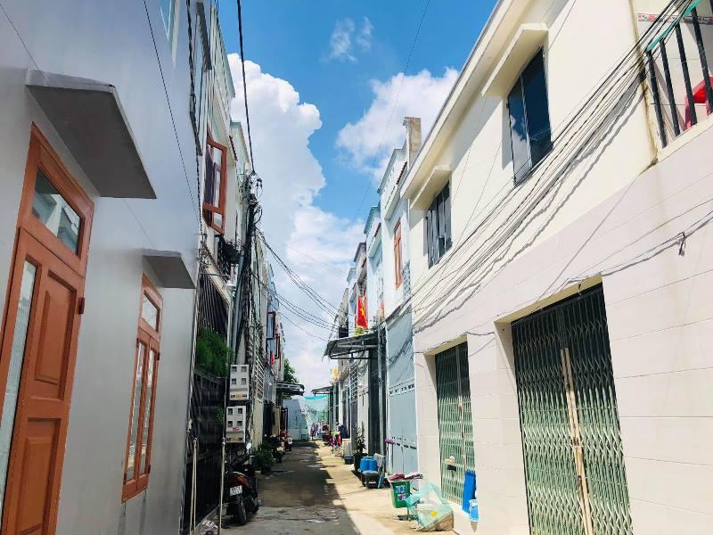 Xây dựng trái phép 35 căn nhà liền kề ở Đồng Nai?