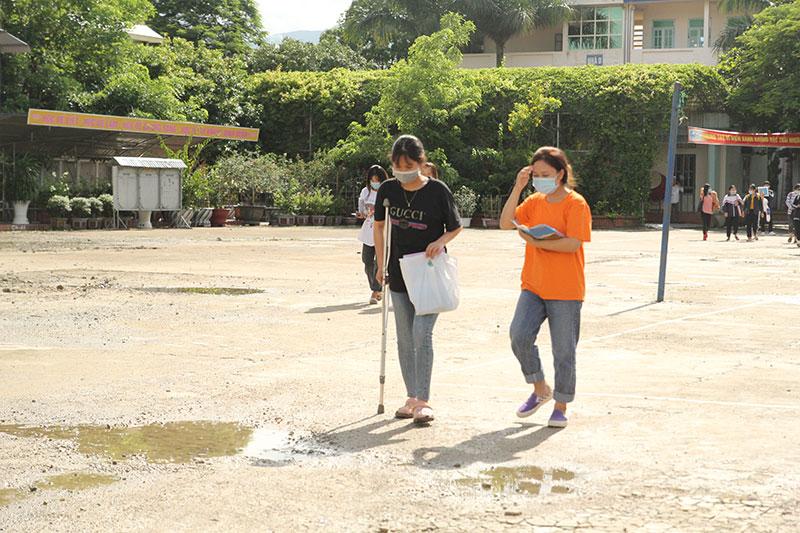 117 thí sinh ở Điện Biên hoàn thành bài thi lại môn Địa lý -0