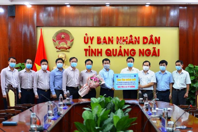 BSR tài trợ tỉnh Quảng Ngãi 2,5 tỷ đồng mua máy xét nghiệm Covid-19 -0