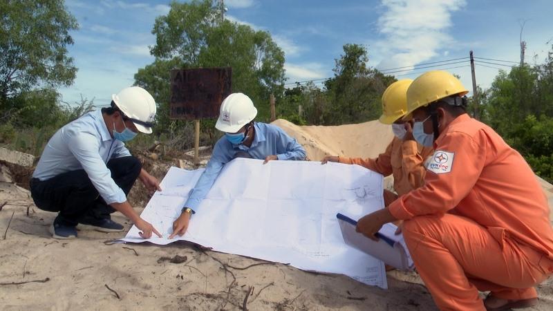 Sớm hoàn thành dự án cấp điện cho xã đảo Nhơn Châu -0