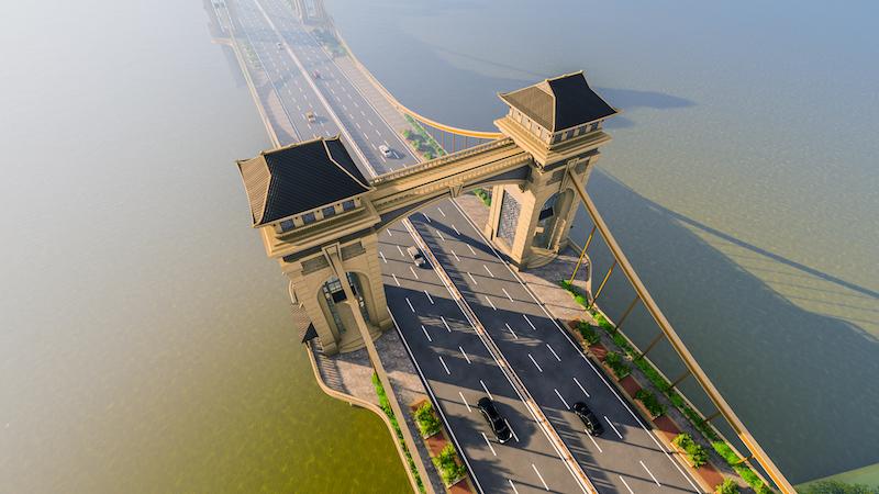 Cầu Trần Hưng Đạo sẽ khác biệt các cầu vượt sông Hồng hiện có -0