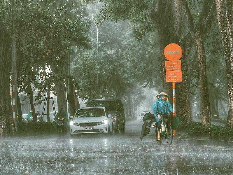 Miền bắc chuẩn bị vào đợt mưa lớn diện rộng - Báo Nhân Dân