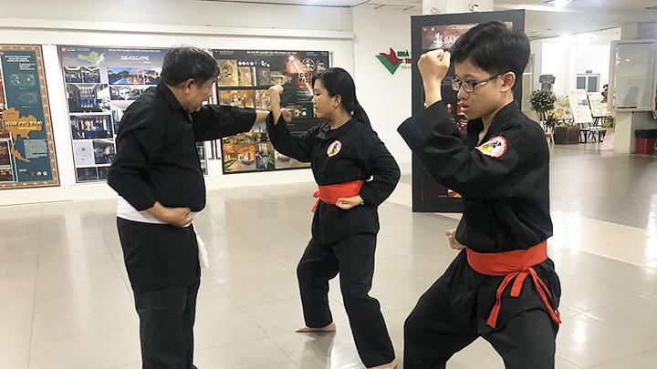 Tâm huyết của người thầy  Võ lâm Tân Khánh - Bà Trà -0