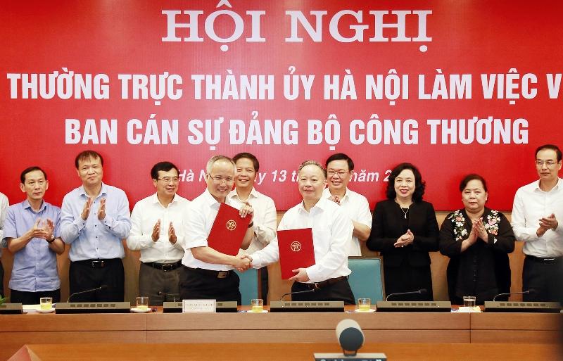 Đưa Hà Nội thành trung tâm công nghiệp, thương mại hiện đại -0