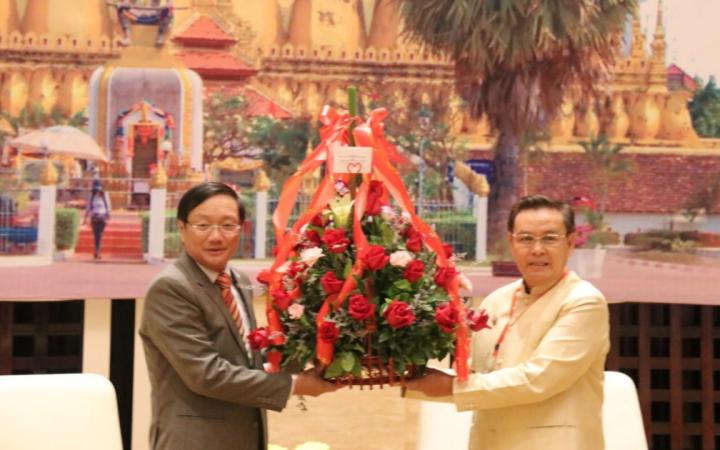 Chúc mừng 70 năm Ngày thành lập Mặt trận Lào Xây dựng đất nước -0