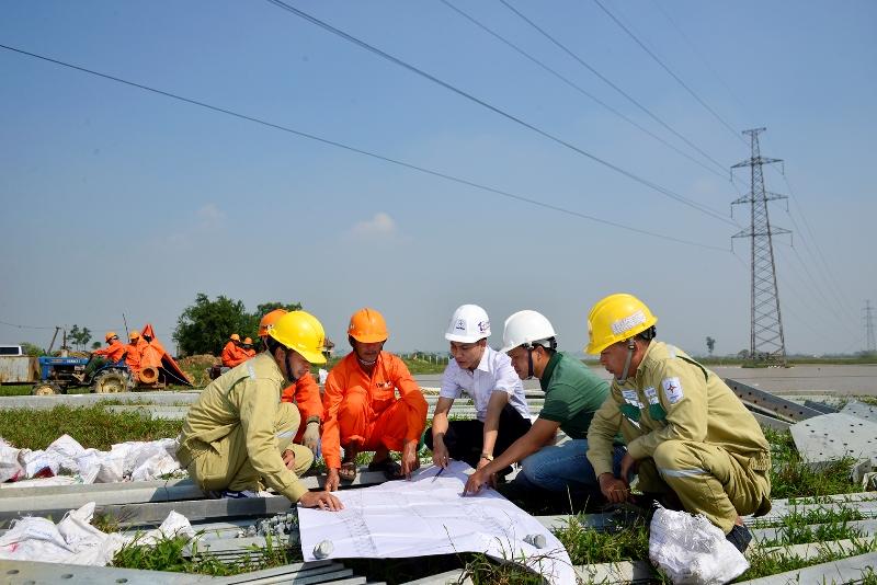 Đẩy nhanh xây dựng đường dây 500kV Tây Hà Nội – Thường Tín -0