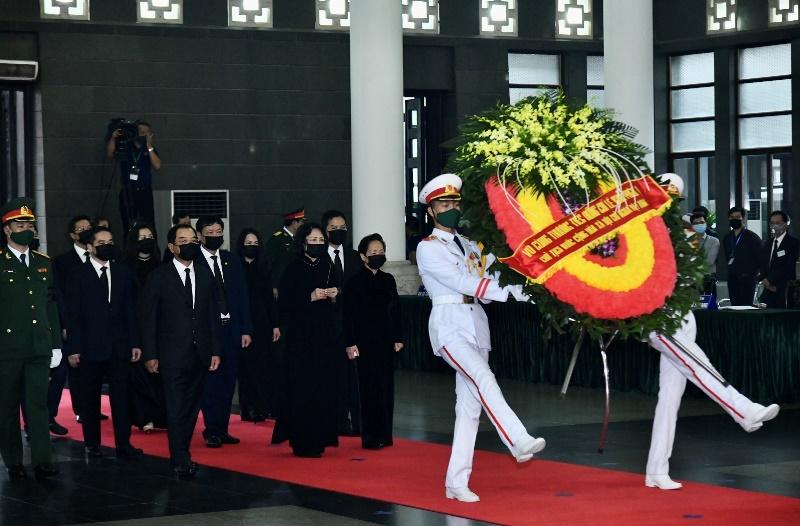 [Cập nhật]: Cử hành trọng thể Lễ viếng đồng chí nguyên Tổng Bí thư Lê Khả Phiêu -0