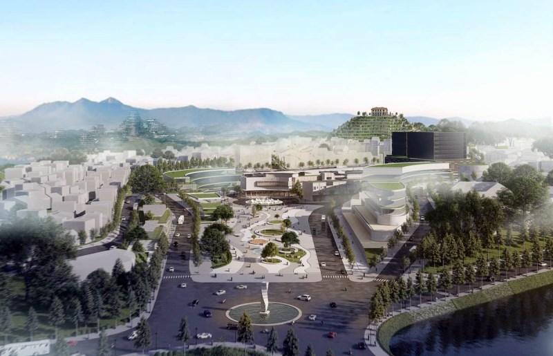 Trưng bày lấy ý kiến phương án kiến trúc khu vực đồi Dinh Đà Lạt -0