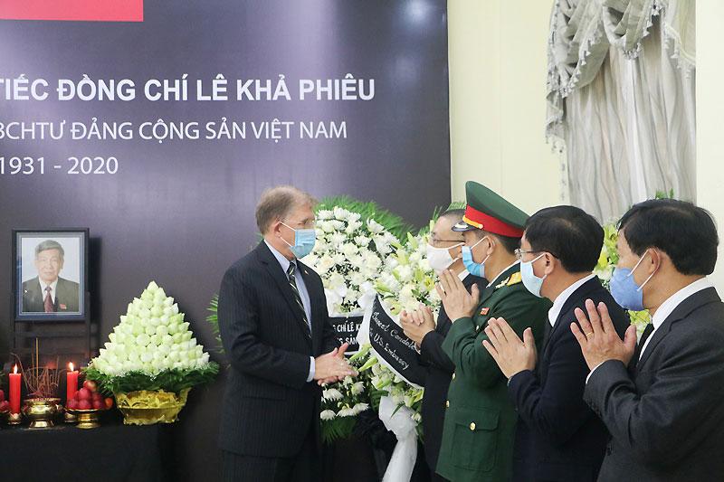 Lễ viếng nguyên Tổng Bí thư Lê Khả Phiêu tại Campuchia -0