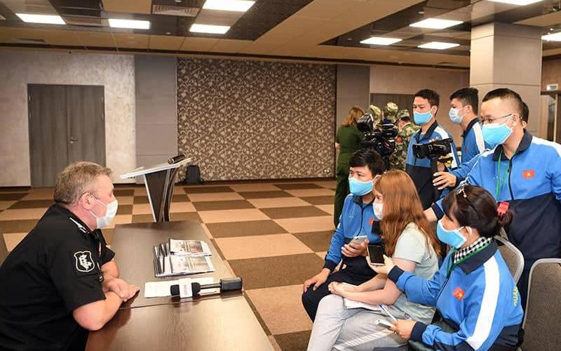 Phía Nga họp báo thông tin về Army Games 2020 -0