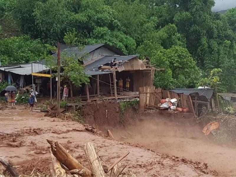 Lũ quét gây thiệt hại nặng tại Điện Biên -1