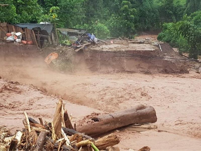 Lũ quét gây thiệt hại nặng tại Điện Biên -0