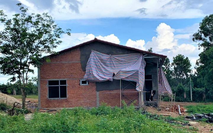 Xử phạt trường hợp xây dựng trái phép trong khu quy hoạch đất rừng cảnh quan ở TP Buôn Ma Thuột -0