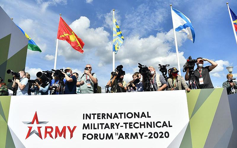 Nga tổ chức khai mạc Army Games 2020 và ARMY-2020 -2
