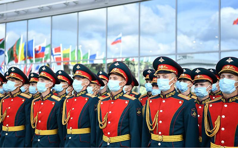 Nga tổ chức khai mạc Army Games 2020 và ARMY-2020 -1