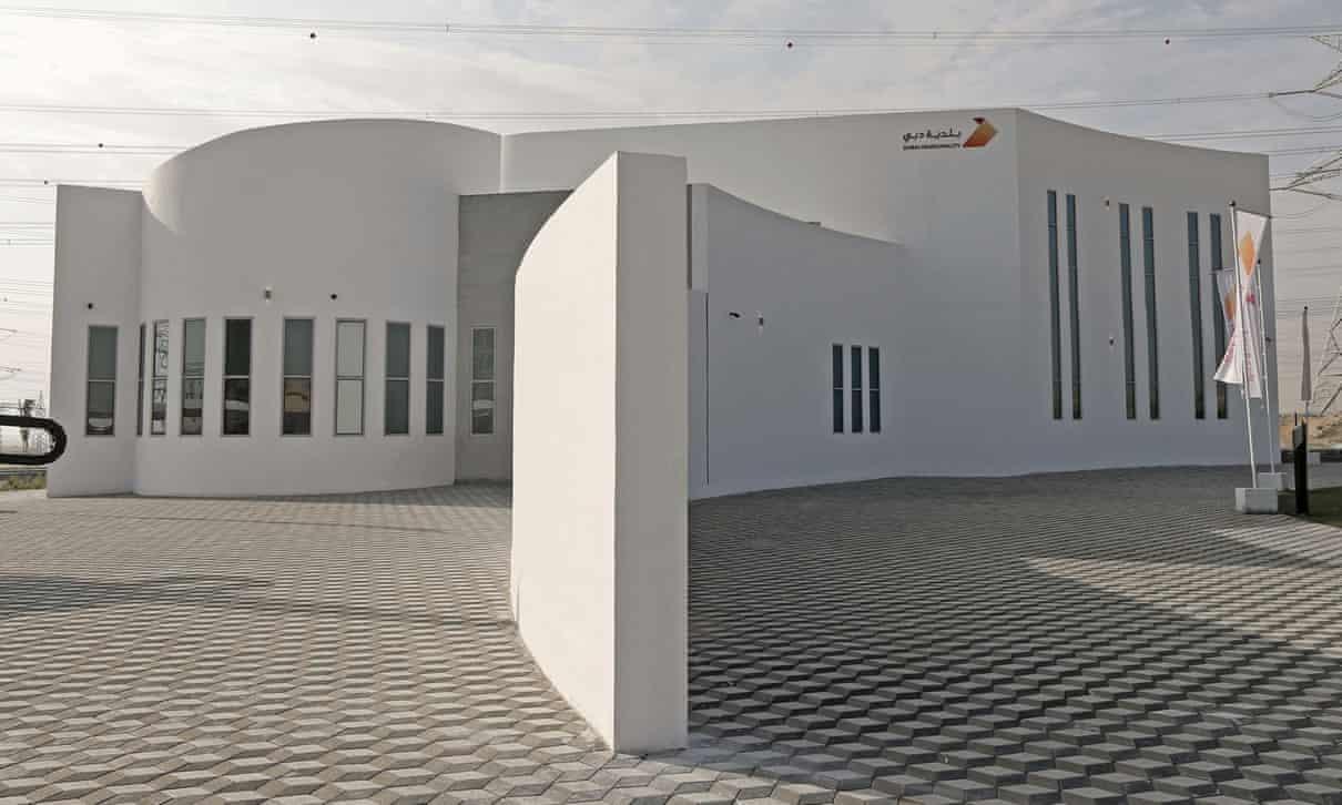 Tạo ra các tòa nhà in 3D từ đất - Báo Nhân Dân