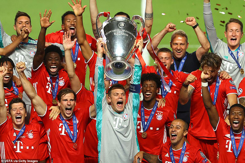 Chúc mừng Bayern, nhà vô địch kiểu mẫu