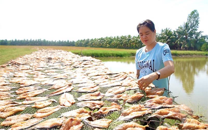 Nhớ mùi cá khô dân dã -0