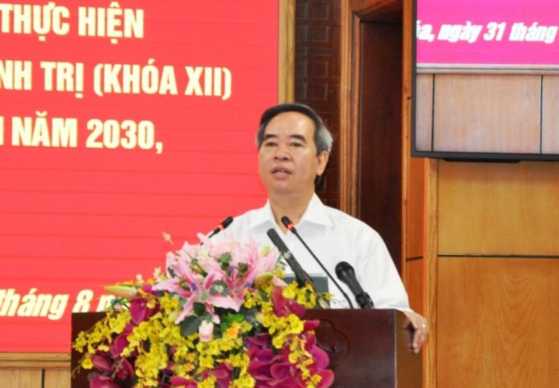 Phát triển tỉnh Thanh Hóa thành cực tăng trưởng mới -0