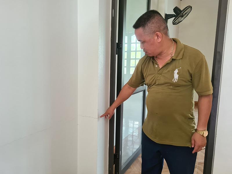 Cần làm rõ nguyên nhân các hộ dân ở Cao Bằng bị nứt tường nhà -0