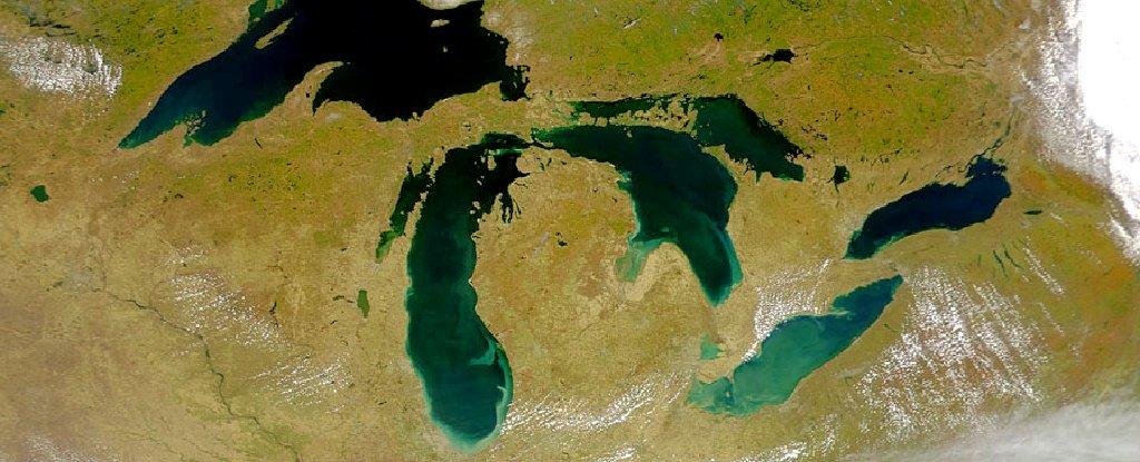 Thể tích các hồ nước từ băng tan tăng 50% trong 30 năm -0