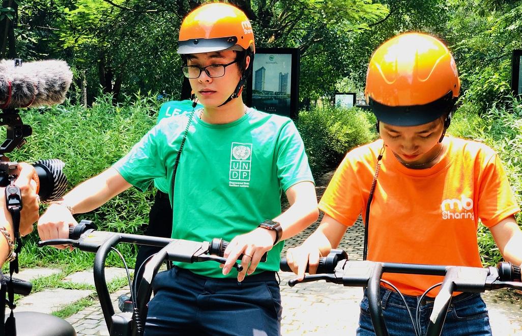 UNDP công bố Sáng kiến giao thông điện xanh tại Việt Nam -0