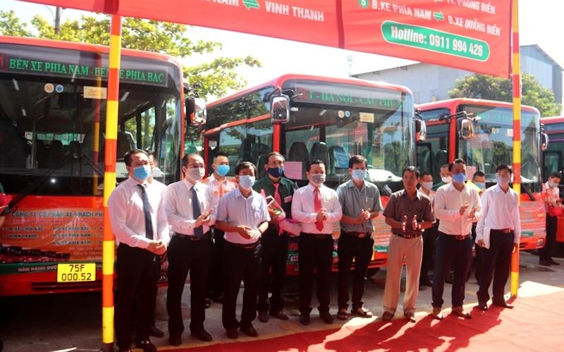 Thừa Thiên Huế đưa vào hoạt động năm tuyến xe buýt nội tỉnh không trợ giá -0